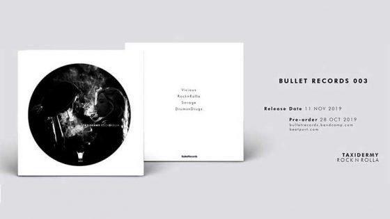 Bullet Records anuncia nuevo EP de Taxidermy 'Rockandrolla'