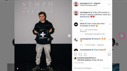 Martin Garrix recibió premio por 10 billones de streamings
