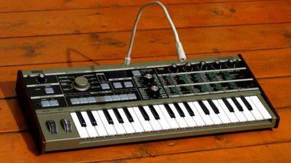 Lanzan un nuevo free pack de sonidos para el sintetizador MicroKorg