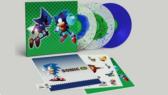 Soundtrack del videojuego Sonic sale en vinyl triple de edición limitada