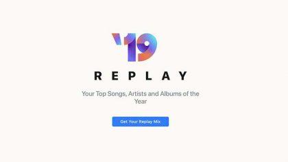 Apple Music lanza 'Replay' una función para que los usuarios vean sus canciones más reproducidas del año