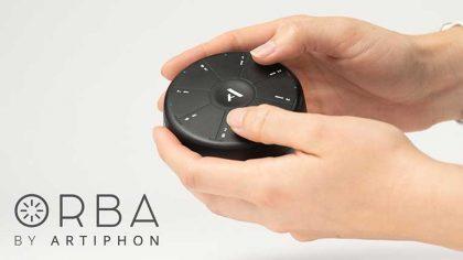 Conoce el Artiphon Orba, un sintetizador, looper y controlador MIDI portatil