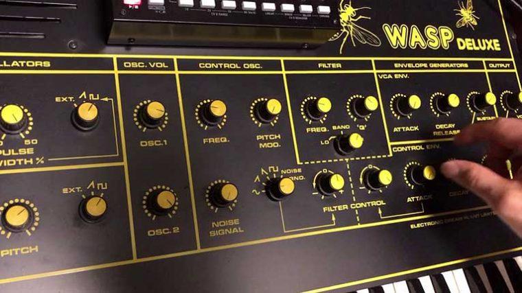 Conoce el nuevo sintetizador de Behringer 'Wasp Deluxe'