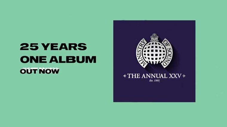 Ministry Of Sound anuncia su compilado 'The Annual'