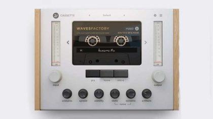 Wavesfactory revive el sonido retro con un plug-in que emula el sonido del Cassette