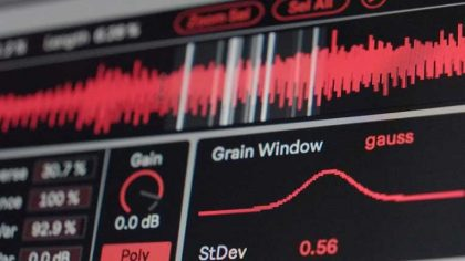 Ableton y Amazing Noises lanzan sintetizador granular 'Grain Scanner'
