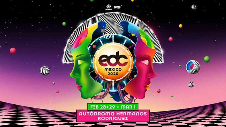 Electric Daisy Carnival México 2020 revela line-up para el festival de tres días