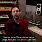 Maceo Plex dona sintetizadores y otras herramientas de producción a Bridge 48 Studio en Barcelona