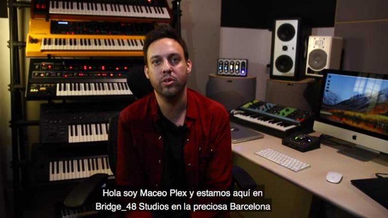 Maceo Plex dona sintetizadores y otras herramientas de producción a Bridge 48 Studio en Barcelona