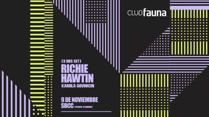 El reconocido DJ y productorRichie Hawtin, reconfirma su actuación para este sábado 9 de noviembre en Santiago