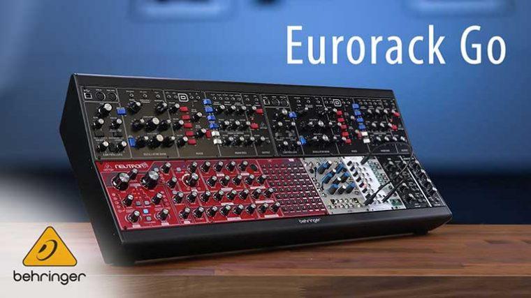 VIDEO – Behringer presenta el 'Eurorack Go' un nuevo case de sintetizador modular