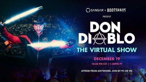Don Diablo tocará en vivo está noche y el show se podrá ver a través de realidad virtual