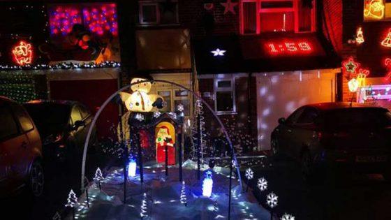 Un fan de Prodigy hace exhibición de luces de navidad en honor a Keith Flint