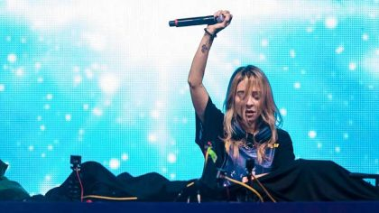 VIDEO – Mira a Baby Yoda en los visuales de Alison Wonderland en NYC