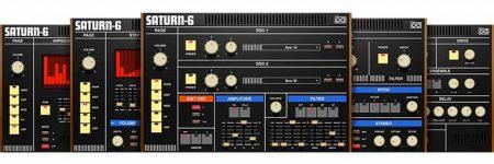 VIDEO – UVI presenta los sintetizadores Saturn y Mercury inspirados en Roland