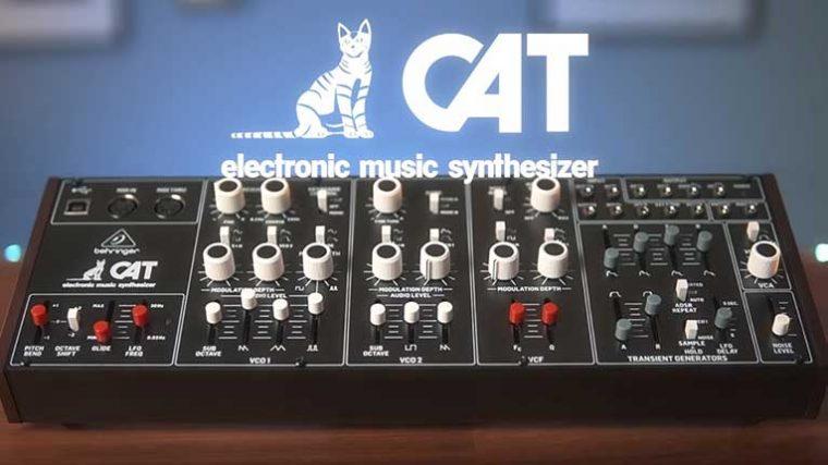 VIDEO – Conoce el nuevo sintetizador de Behringer 'Cat'