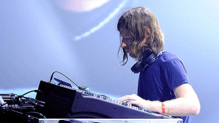 VIDEO – Mira el set de Aphex Twin en el Mayfield Depot de Manchester