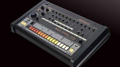 El TR-808 de Roland es llevado al Salón de la Fama de NAMM