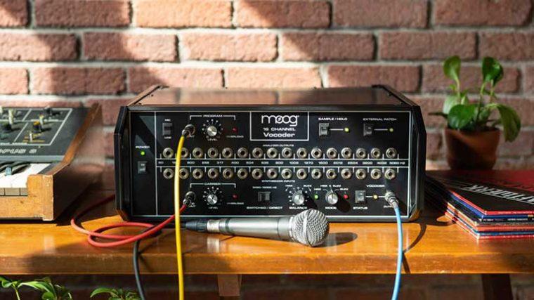 Moog trae de vuelta su clásico 'Moog 16 Channel Vocoder'