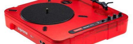 Numark y Supreme lanzan turntable portátil con altavoz incorporado