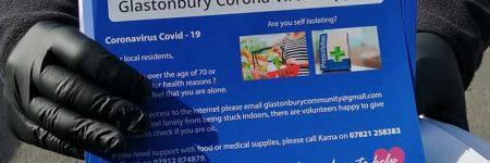 Glastonbury dona guantes, mascarillas y desinfectantes para atender la emergencia del COVID-19