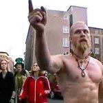 Aparece una rara foto de Techno Viking a 20 años de conquistar el internet con su video en el F*ckparade