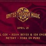 Carl Cox, Netsky, Adam Beyer y más en vivo hoy en 'Tomorrowland Presents: United Through Music'
