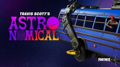 Travis Scott presenta 'Astronomical' junto a Fortnite