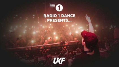 UKF se hará cargo de la BBC Radio 1 durante todo el mes de mayo