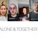 VIDEO: Alone & Together – Electronic Groove presenta un mensaje de unidad de Dj's de todo el mundo