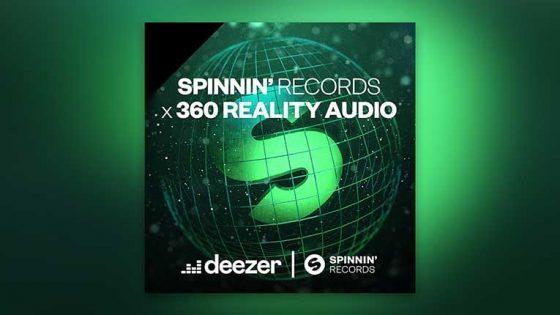 AUDIO – Deezer y Spinnin Records lanzan un playlist con calidad «360 Reality Audio», creando una experiencia inmersiva