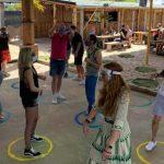 En Alemania un club organizó una «rave de distanciamiento social» con un espacio marcado para cada asistente