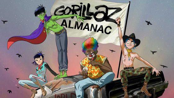 Gorillaz celebra sus 20 años con la primera edición del libro 'Gorillaz Almanac'