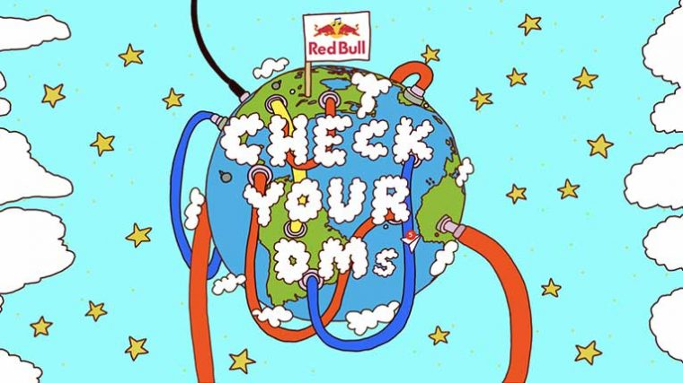 VIDEO: «Check Your DMs» – Mira la nueva serie de Red Bull que promueve la producción musical en linea