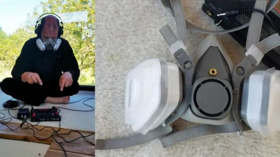 VIDEO – Pande-Mic: Conoce la máscara anti COVID-19 que funciona como un instrumento musical