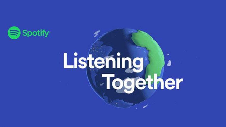 LISTENING TOGETHER: Conoce la nueva función de Spotify para conectar personas