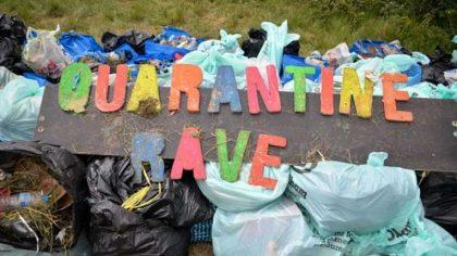 Cerca de 6000 personas asistieron a raves ilegales en el Reino Unido el pasado fin de semana