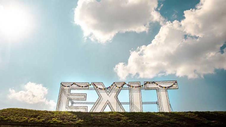 EXIT Festival – Mira el lineup del único festival que se celebrará en Europa este verano