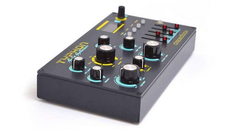 VIDEO: Typhon – Conoce el nuevo sintetizador portátil de Sinevibes y Dreadbox