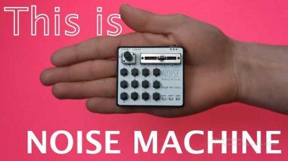 Noise Machine – El controlador MIDI inalámbrico que cabe en la palma de su mano