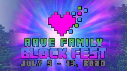 Rave Family Block Fest – El Festival Virtual de Minecraft cambia de nombre, y de fecha