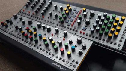 Behringer anuncia un clon del sintetizador modular ARP 2500 en formato Eurorack