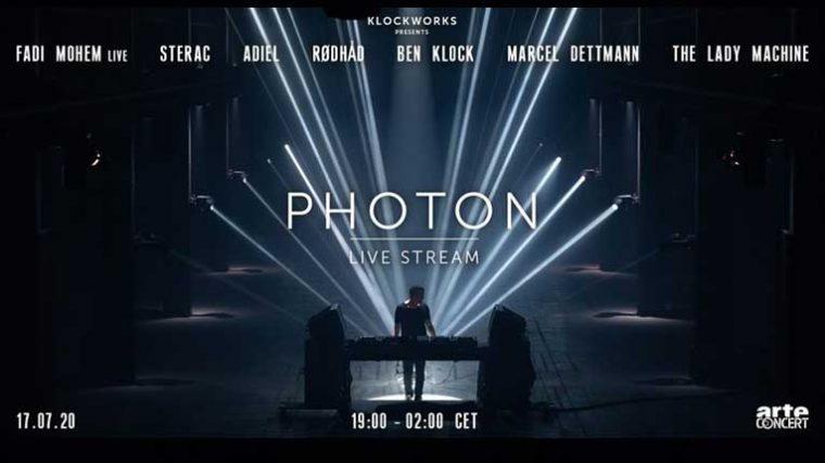 Ben Klock presenta su show inmersivo 'Photon' de manera virtual vía live streaming