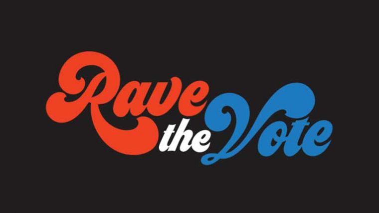 RAVE THE VOTE – Un evento para promover el voto en la comunidad EDM para las próximas elecciones en EEUU