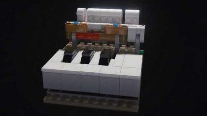 VIDEO – Lego Ideas presenta lo que podría ser su próximo mini teclado para tocar de verdad