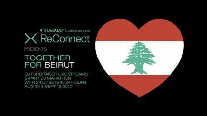'Together for Beirut' – Así ayudará Beatport a la reconstrucción de la capital libanesa