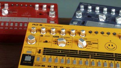 Behringer lanza un clon del Roland TR-606 en una amplía gama de colores