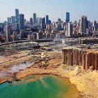 La zona que alberga los principales clubes de Beirut quedó totalmente destrozada tras la reciente tragedia