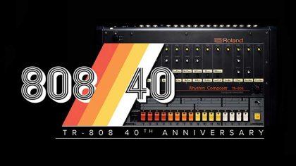VIDEO – Roland celebró su 40 aniversario del 808 Day con un mini documental y un plugin gratuito