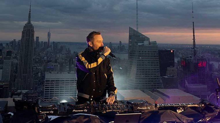 VIDEO – Por esta transmisión David Guetta ganó dos Records Guiness